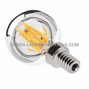 Bombilla-filamento-ked-espejo-E14-esferica