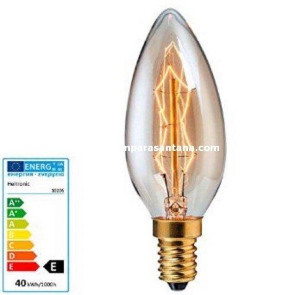 Bombilla-vela-filamento-gold