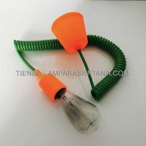 Cable-espiral-de-silicona-verde