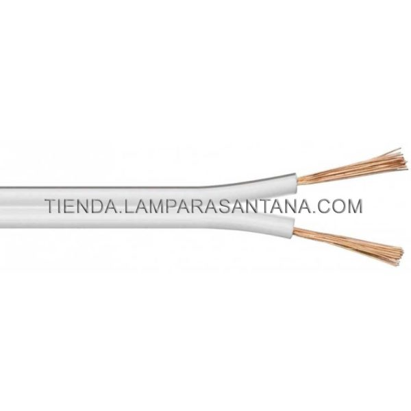 cable paralelo blanco