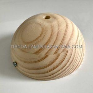 Floron-techo-lampara-madera-media-bola