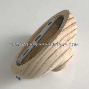 Floron-techo-lampara-madera-semi-bola