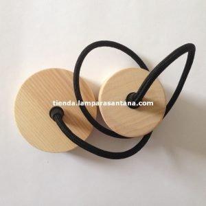 Lampara-colgante-madera-cilindro