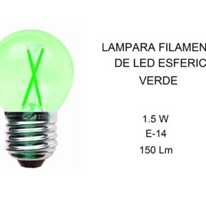 bombilla-filamento-led-esferica-e14-color-verde