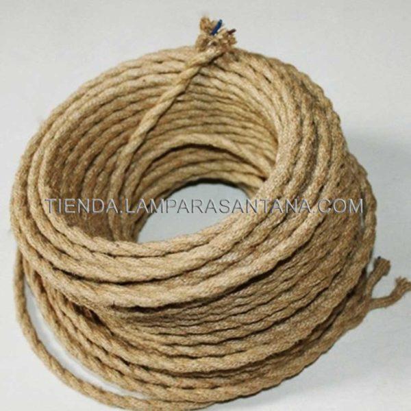 cable de cuerda de cañmo
