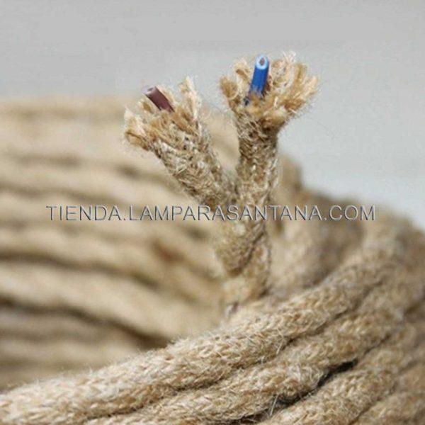 cable de cuerda de cañamo
