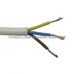 cable manguera redonda blanco