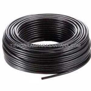 cable manguera redonda negro