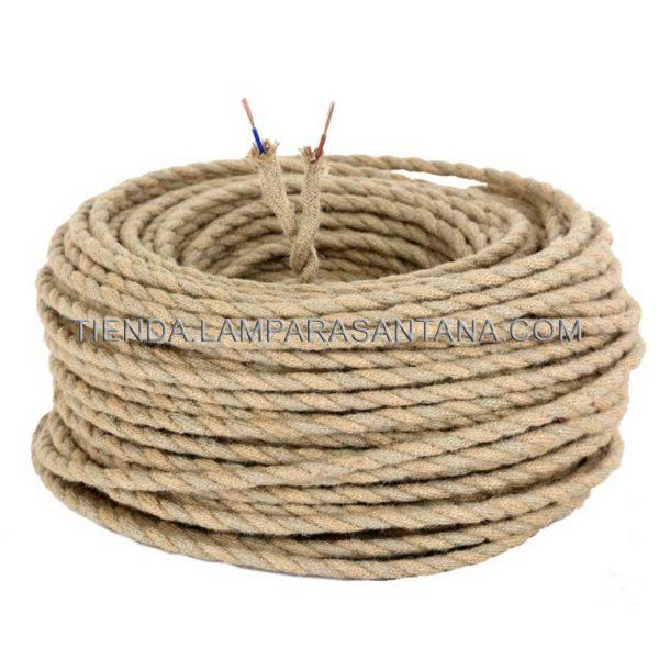 cable trenzado cuerda 2 hilos