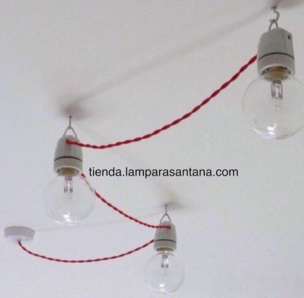 guirnalda interior textil lamparasantana