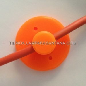 lampara-araña-silicona.naranja