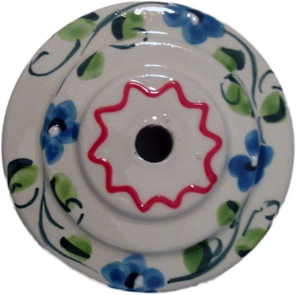 soporte flores ceramica
