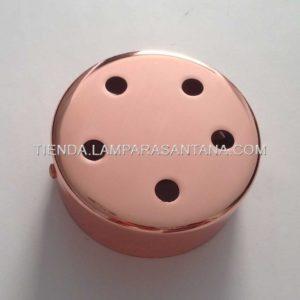 soporte-techo-hierro-ancho-cobre-5-agujeros