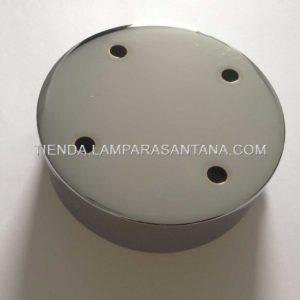 soporte-techo-hierro-ancho-cromo-4-agujeros