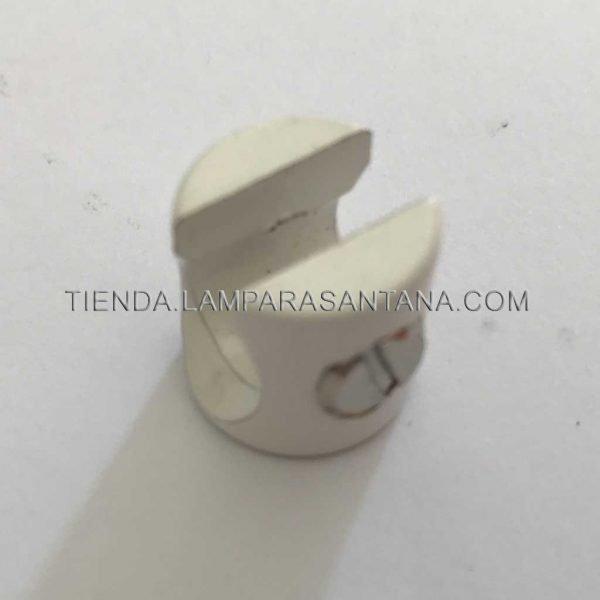 sujecion cable para techo blanco