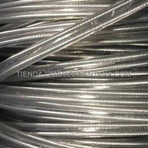 cable silicona transparente