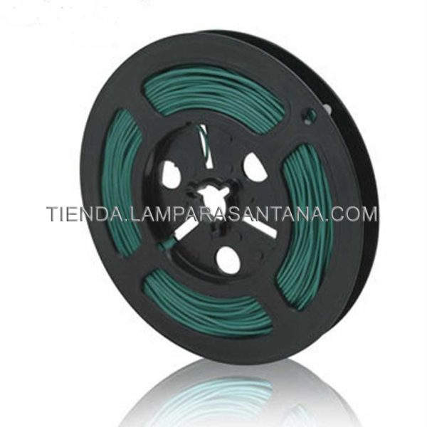 cable silicona verde