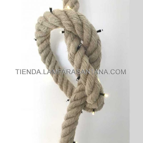 guirnalda cuerda soga
