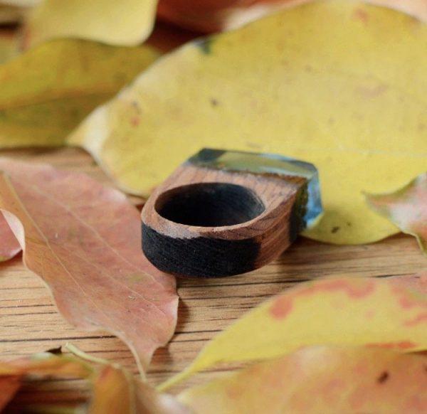 anillo madera