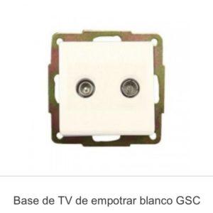 Base television empotrar gsc