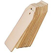 Etiquetas madera