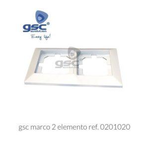 Marco 2 elementos empotrar gsc