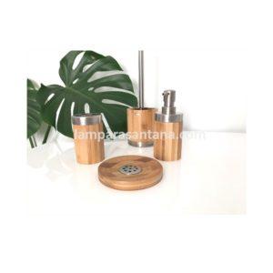 Accesorios de baño bambú