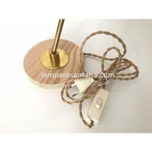 Iluminaci n l mparas de madera tienda de accesorios para l mparas - Flexo escritorio ...