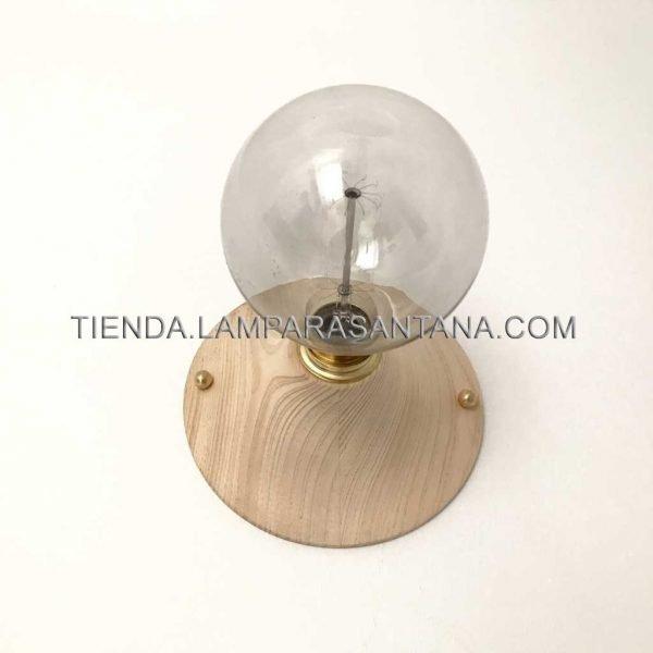 Aplique Bauhaus de madera
