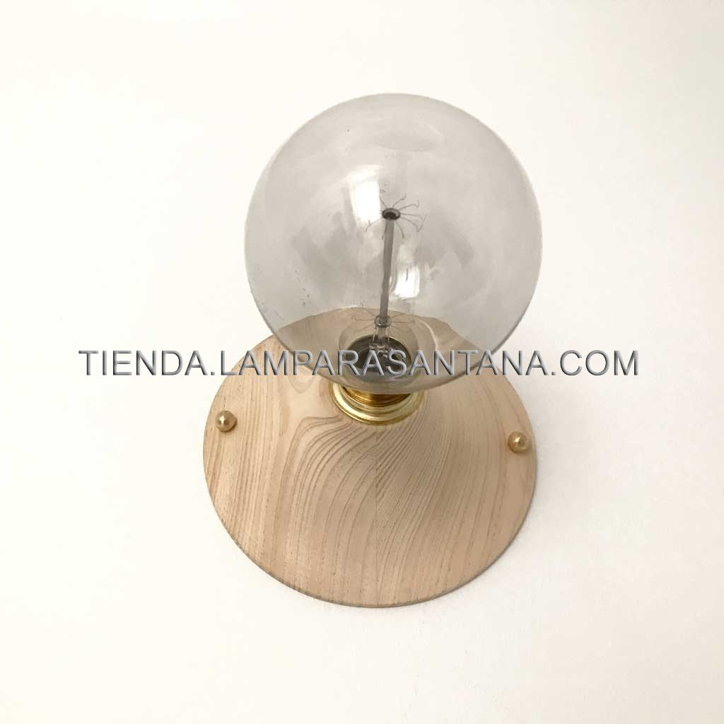 Aplique bauhaus de madera lampara santana - Bauhaus estanterias de madera ...