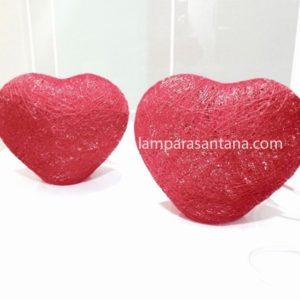 Lámpara de mesa hearts