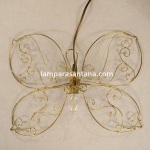 Lámpara mariposa