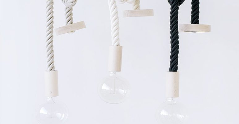 cables decorativos lamparas Santana