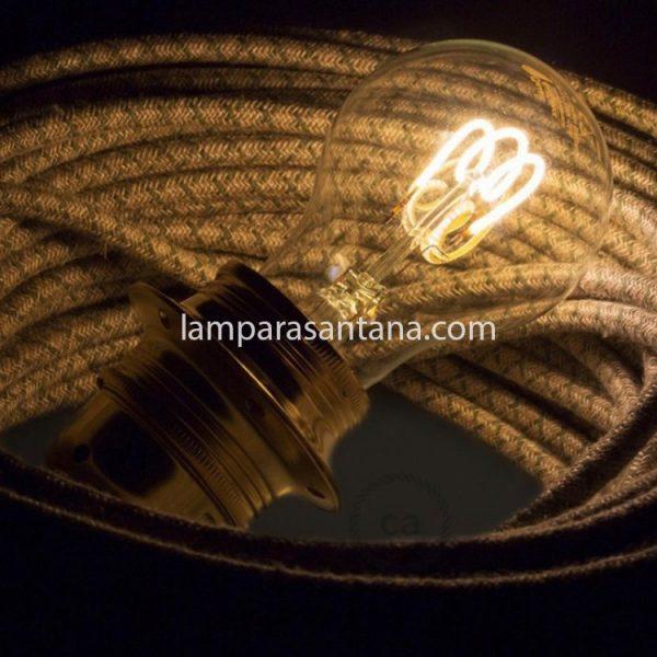 Bombilla led vintage espiral 4W
