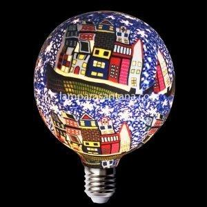 Bombilla decorativa led silicona modelo casas
