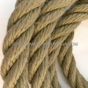 cable de soga sintético para exterior imitación cuerda de cáñamo